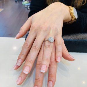cnd shellac french manicure 12062